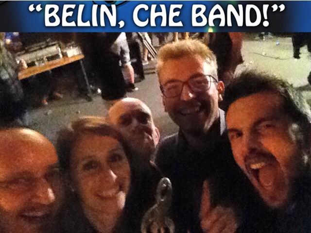 Red Shoes Belin che Band 2016