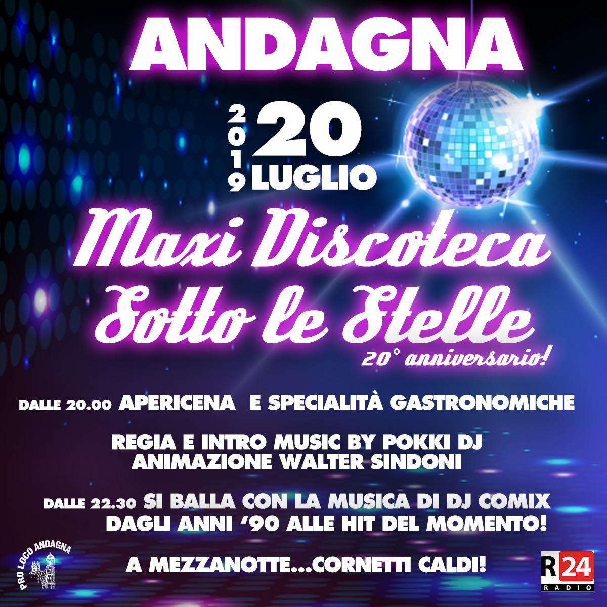 Maxi Discoteca Andagna